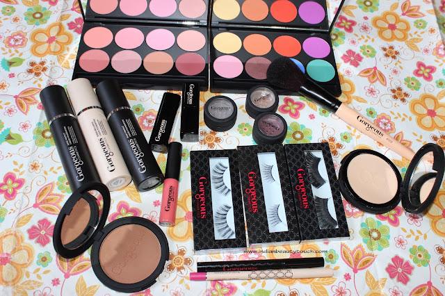 Gorgeous Cosmetics, Gorgeous Cosmetics India