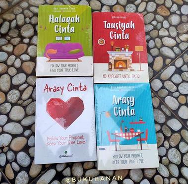 Paket Halaqah Cinta Arif Rahman Lubis