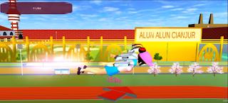ID Alun-Alun Cianjur Di Sakura School Simulator
