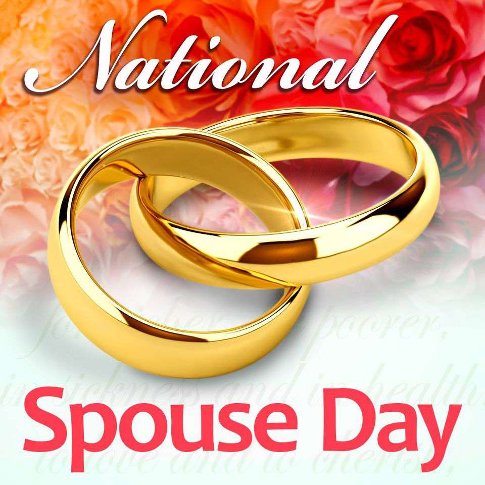 National Spouses Day Wishes Unique Image