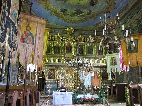Cerkiew Opieki Matki Bożej w Hańczowej.