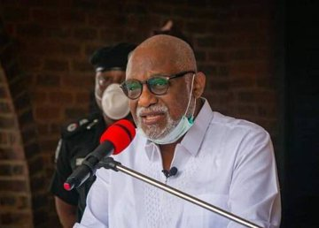BREAKING: Ondo State Governor, Akeredolu Tests Positive For COVID-19 (Video)