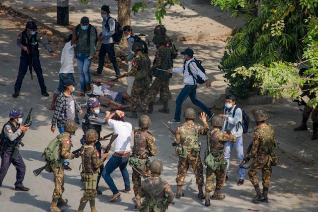 Hmm, Indonesia Minta Aparat Keamanan Myanmar Tak Gunakan Kekerasan