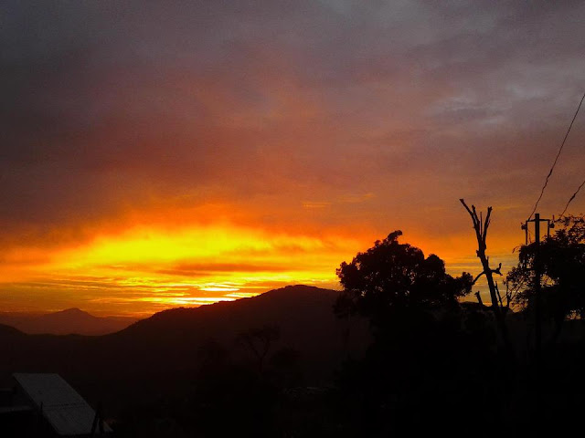 Jampui Hills Sunset