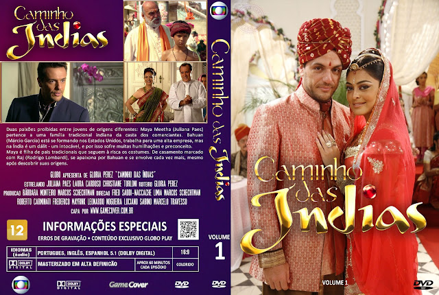 Capa DVD Caminho Das Índias Volume 1 [Exclusiva]