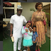 Julius Agwu  pictured  with his beautiful family