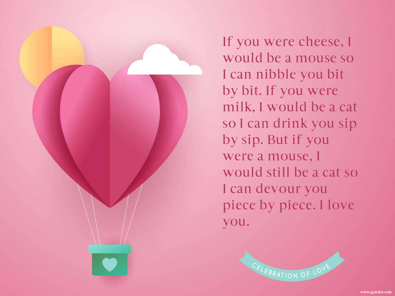 i love you greeting cards for her