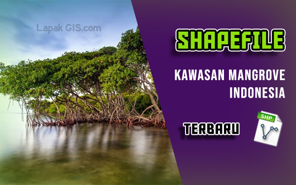 Data Shapefile Kawasan Mangrove Indonesia Terbaru