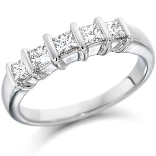 Unique 5 Stone Diamond Rings