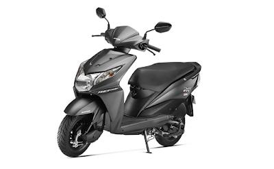 New Honda Dio black colour image