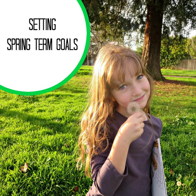 Setting spring term goals