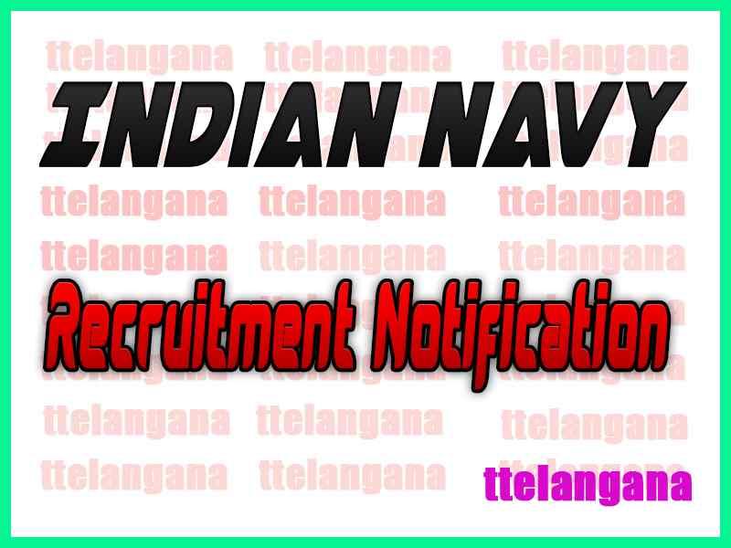 Indian Navy Nausena Bharti Recruitment Notification Apply
