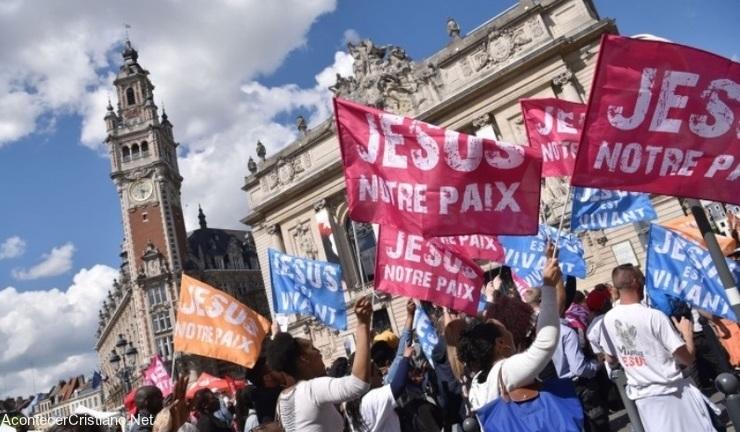 Marcha por Jesús en Francia