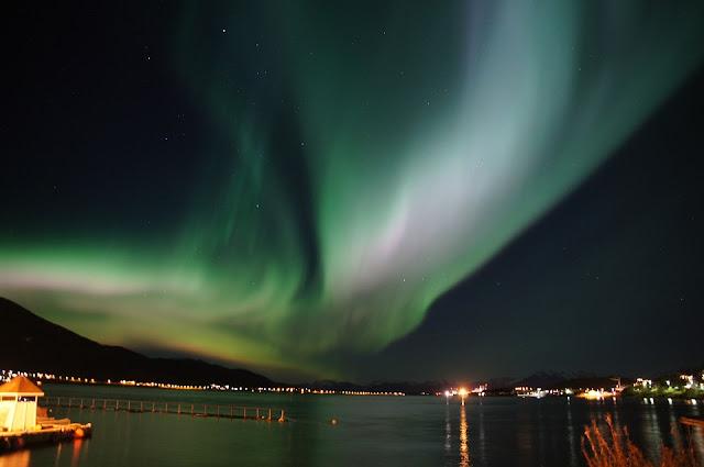 où voir une aurore boréale