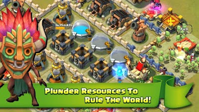 Screenshot: Castle Clash for Android