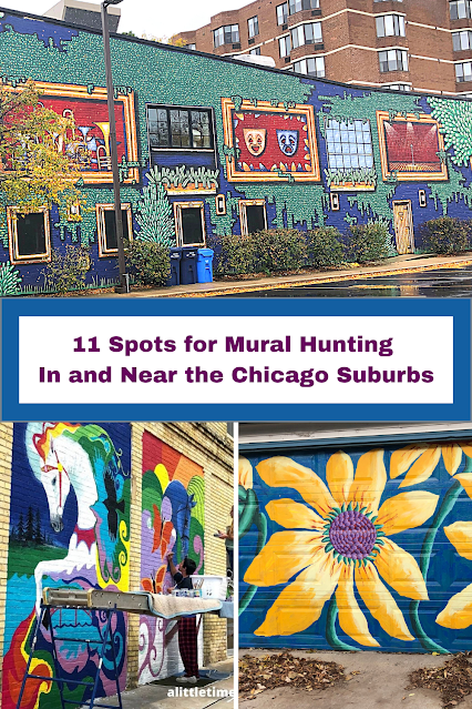 11 Spots for Mural Hunting In and Near the Chicago Suburbs