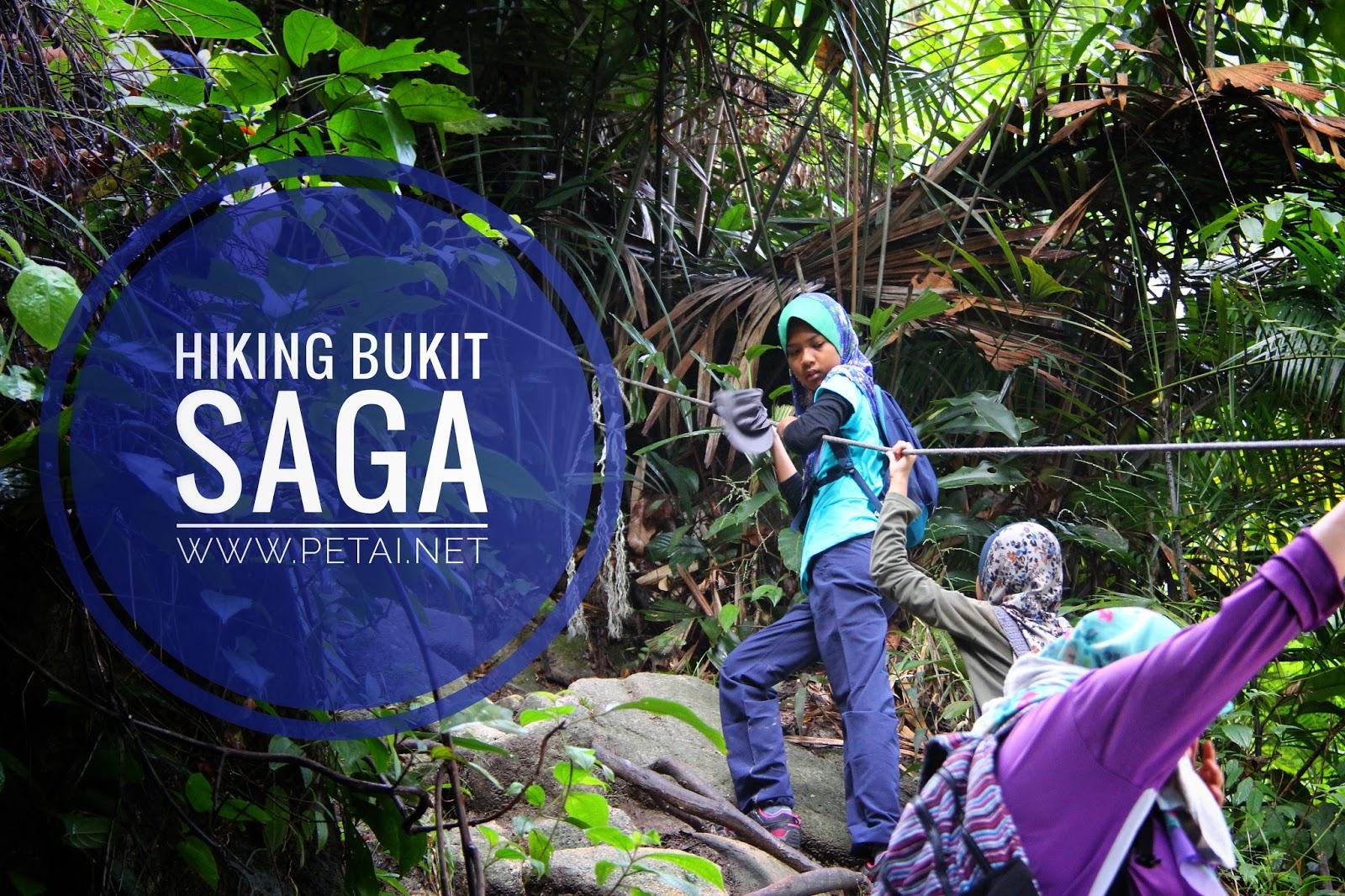 Hiking Bukit Saga, Ampang