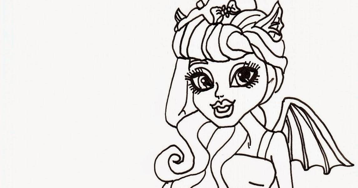 Imagens Para Colorir E Imprimir Da Monster High