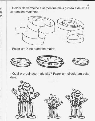 Confira algumas sugestões de Atividades de Carnaval prontas para imprimir