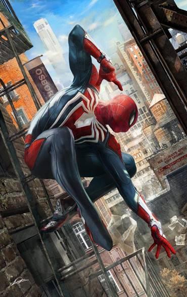 En la PS4 debutaría esta versión alternativa de Spiderman