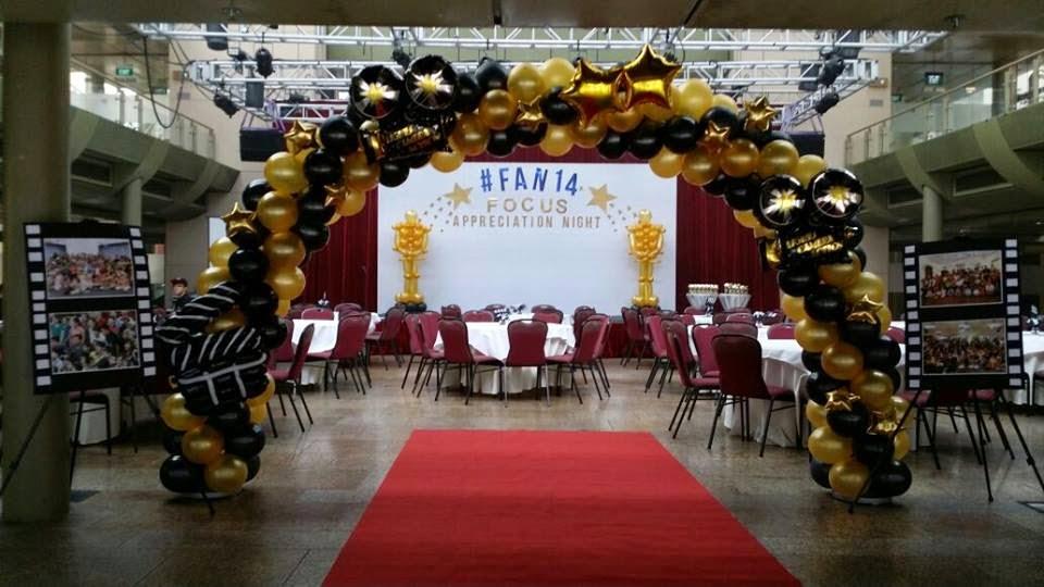 Balloon Surprizes Hollywood Theme Balloon Decoration For