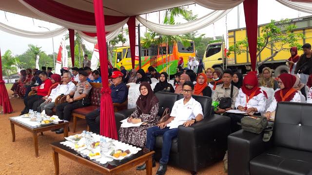 KRS PMI UPT STIKES Harapan Ibu Jambi Laksanakan GEMPAR KE 4