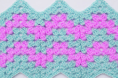 2 - Crochet Imagen Puntada zig zag a crochet por Majovel Crochet