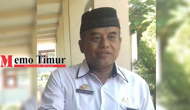 Kepala Cabang Dinas Pendidikan Wilayah Lumajang Drs. Sugiono Eksantoso, MM.