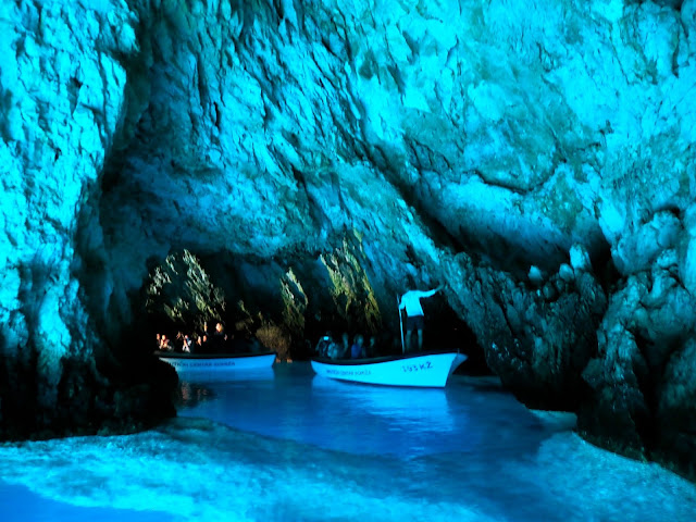 Blue Cave, Bisevo, Dalmatian Coast Islands, Croatia