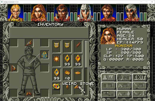 Inventory | RPG Jeuxvidéo