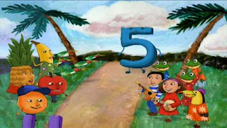 Dan Zanes and Friends sing Go Down Emmanuel Road. Sesame Street Preschool is Cool, Counting With Elmo