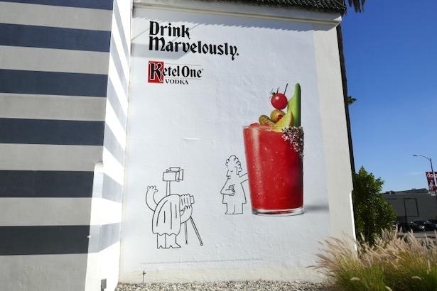 Drink Marvelously Ketel One Vodka billboard