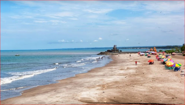 10+ Gambar Pantai di Padang yang terkenal indah