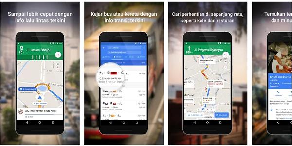 Aplikasi GPS Terbaik Maps Navigasi & Transportasi