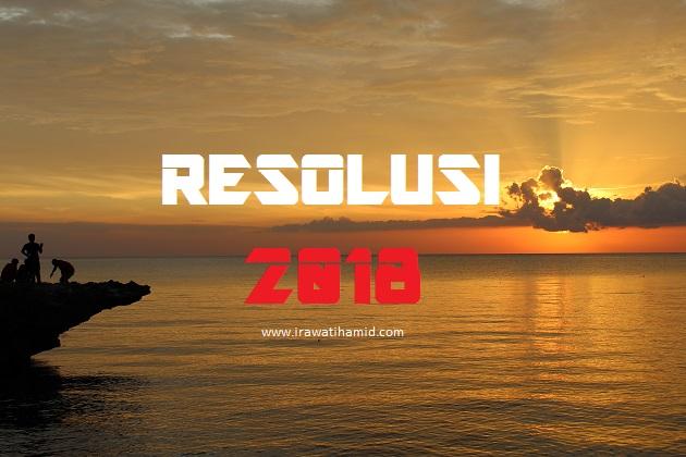 MY 2018 RESOLUTION