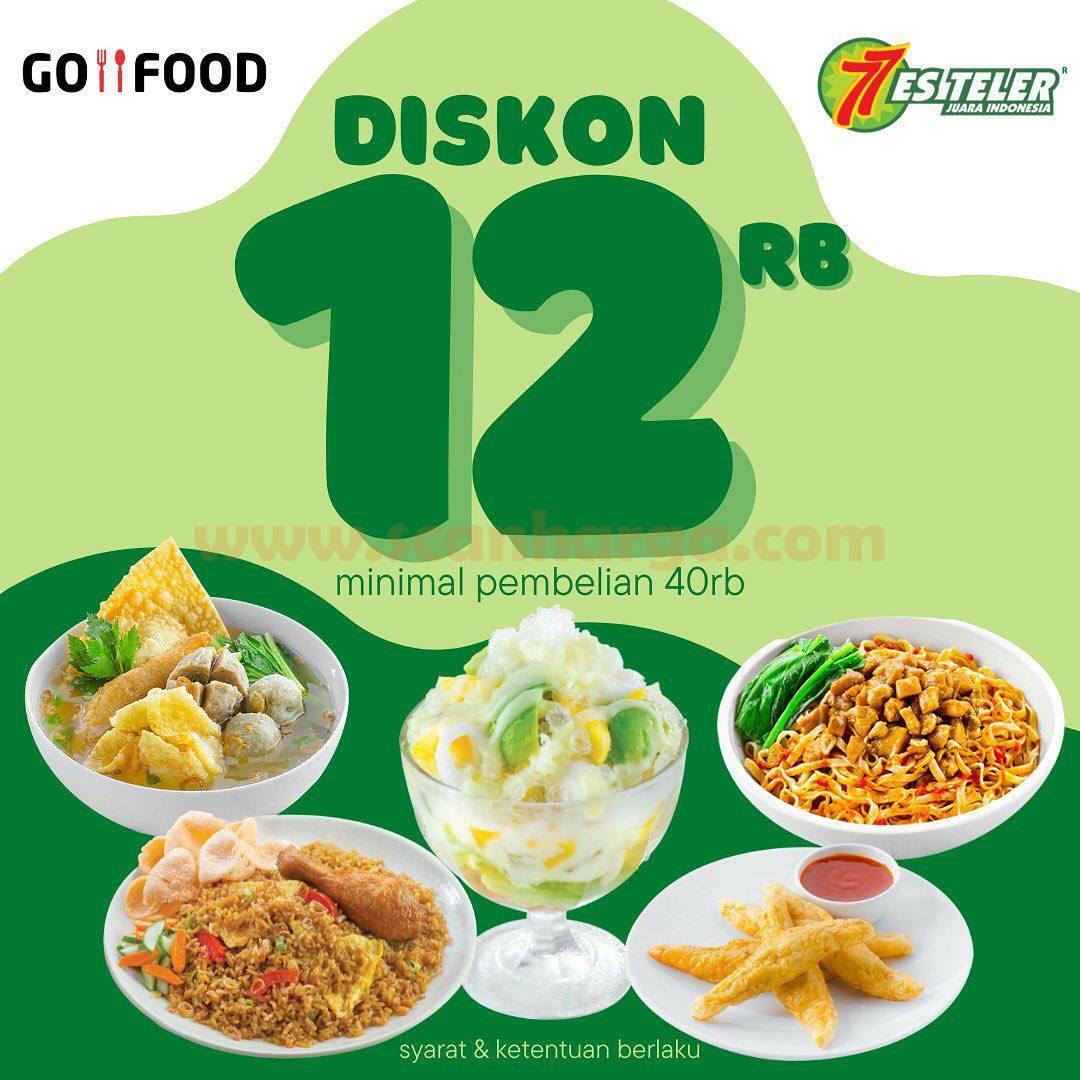 ES TELER 77 Promo Diskon Rp. 12.000 khusus pemesanan via GOFOOD