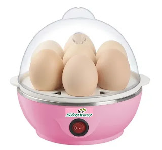 Simxen Automatic Elecrtic Egg Boiler Machine for Steaming, Cooking and Boiling | Best Egg Boiler Machine in India | Electric Egg Boiler Reviews