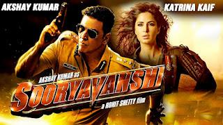 Sooryavanshi 2019 movie - Akshay Kumar and Katrina Kaif