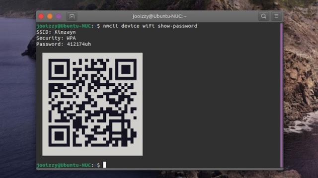 Password Wifi di Network Manager Linux Ubuntu