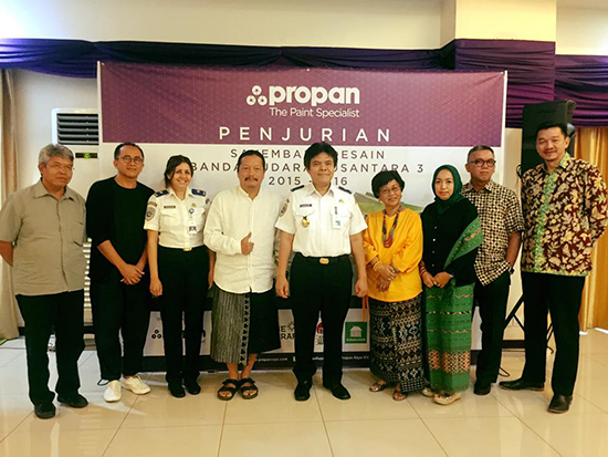 juri Sayembara Desain Arsitektur Nusantara 3