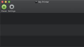 Jendela Antrian Printer