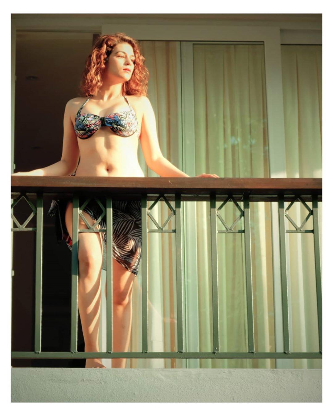 Actress Shraddha Das Hot Bikini Photo Shoot