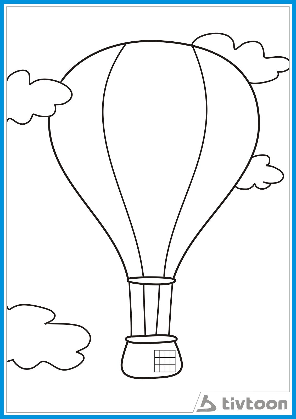 10+ Ide Sketsa Gambar Balon Udara Yang Mudah Digambar - Tea And Lead