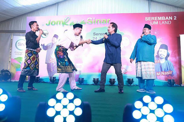 Raya Bersama Sinar FM Di IJM Land Seremban 2