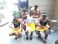 Zulu Dancing Team Building