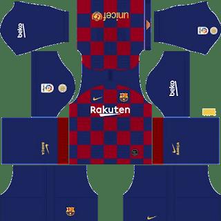 Kit DLS FC Barcelona 2019/2020