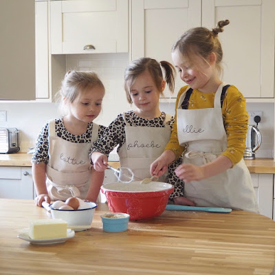 Sparks and daughters personalised aprons