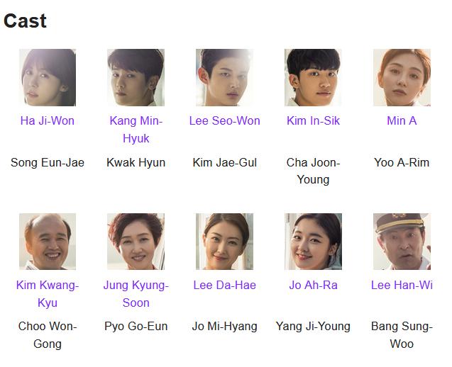 Hospital Ship K-Drama Cast