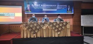 Kakanwill Kemenag Provinsi Jambi Secara Resmi Membuka Rakor Layanan Nikah Dan Rujuk.