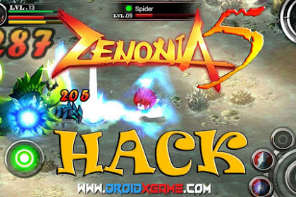 Download Game Android Zenonia 5  v.1.2.7 MOD APK [ Unlimited Money+Offline Terbaru ]